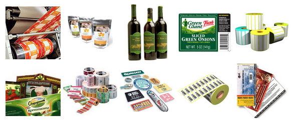 Маркировка продукции наклейками