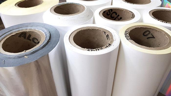 рулонные материалы для печати этикеток