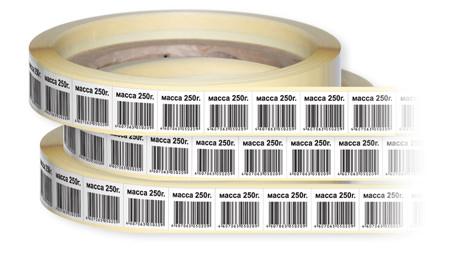Штрих коды в рулонах